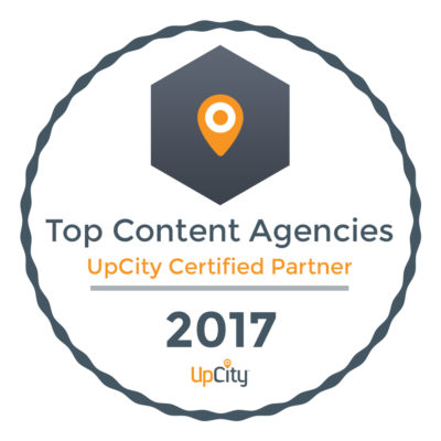 2017 top content agency award